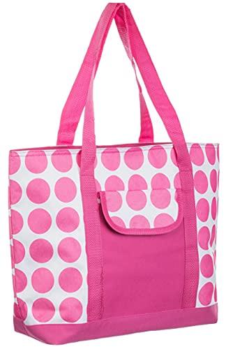 Brandsseller Kühltasche Isoliertasche Thermotasche 46 x 13 x 33 cm Pink