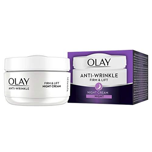 olay otc wrinkle creams Olay Anti-Wrinkle Firm and Lift Night Cream for 40+, 1.7 Ounce