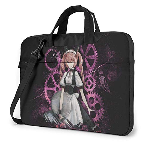 Hdadwy 13 inch Laptop Sleeve Bag, Steins Gate Fireball Faris Tablet Briefcase Ultra Portable Protective Shoulder Shockproof Briefcase Sleeve Bags Cover MacBook Pro/Notebook