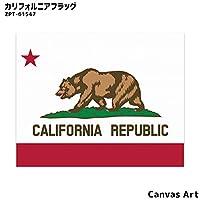 アート JIG キャンバスアート カリフォルニアフラッグ Canvas Art California Flag ZPT-61547 絵画