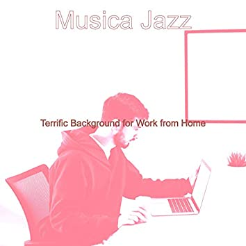 Terrific Background for Work from Home