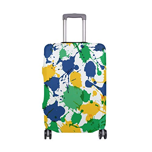 Montoj, copertura per valigia con stampa a colori del Brasile