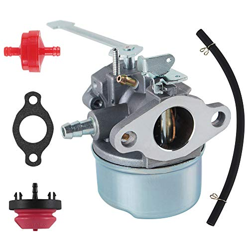 AUTOKAY New Carburetor Snow Blower Kit for Tecumseh 3HP 2 Cycle Toro Sears Craftsman MTD