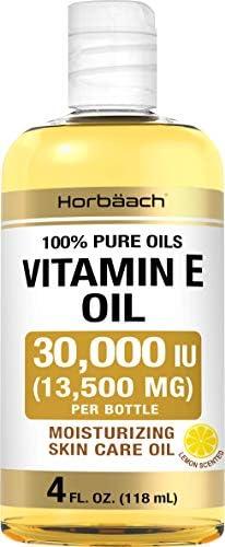 Vitamin E Oil 30 000 IU 4 fl oz 100 Pure Oils Moisturizing Oil for Skin and Face Non GMO Vegetarian product image