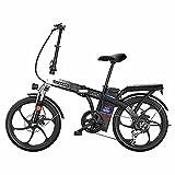 Faltbares Fahrrad 26 Zoll E-Bike Trekking Für Herren Pedelec Mountainbike 48V15ah Motor 300W Batterie/Shimano 7-Gang-Getriebe/Höchstgeschwindigkeit 30Km/H/Kilometerstand Aufladen Bis Zu 90Km
