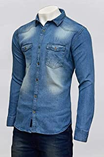 Beardman Denim Casual Shirt