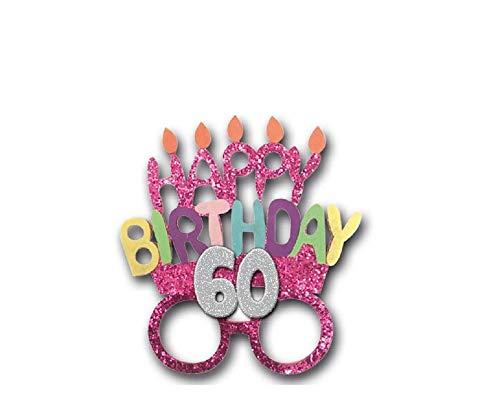 Gafas Party accesorios idea regalo cumpleaños genérico. 18 años 30 años 40 años 50 años 60 años 70 años 80 años 60 Anni