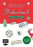 Bullet Journal – Stickerbuch Merry Christmas: 700 weihnachtliche Schmuckelemente: Easy Setups für deinen Planer mit 100 Vorlagen zum Abpausen