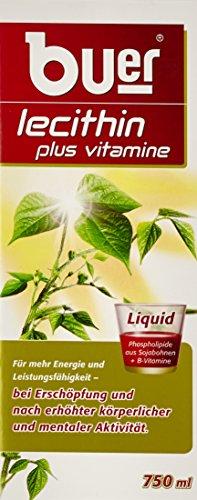 Buer Lecithin Plus Vitamine Liquid, 750ml