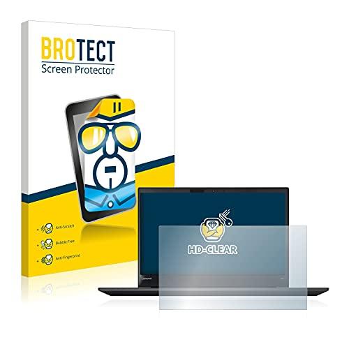 BROTECT Schutzfolie kompatibel mit Lenovo ThinkPad T570 klare Bildschirmschutz-Folie