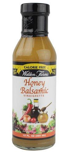 Walden Farms Calorie Free Dressing Honey Balsamic Vinaigrette -- 12 fl oz - 2 pc