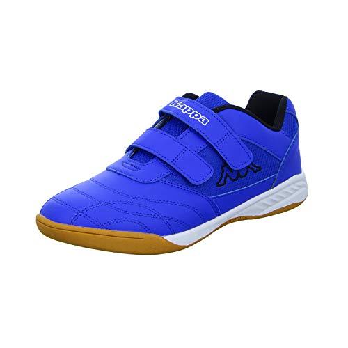 Kappa Kickoff, Scape per Sport Indoor Unisex-Bambini, Blu (Blue/Black 6011), 38 EU