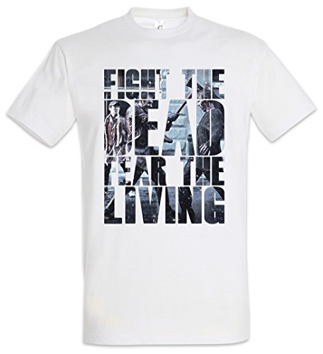 Urban Backwoods Fight The Dead Fear The Living Camiseta De Hombre T-Shirt