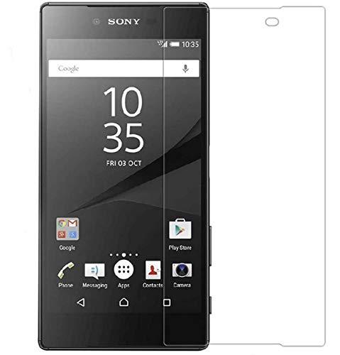 Tumundosmartphone Protector Pantalla Cristal Templado para Sony Xperia Z5 Premium Vidrio