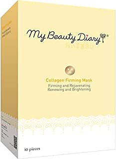 My Beauty Diary Facial Mask, Collagen Firming 2015, 10 Count