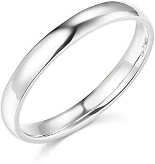 Size 9.5 Bonyak Jewelry 10k White Gold 4 mm Lightweight Milgrain Band