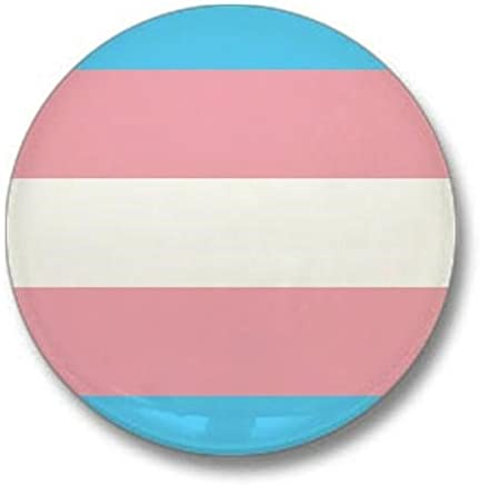"CafePress Transgender Pride Flag Mini Button 1"" Round Mini Button"