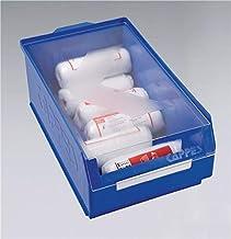 kappes de sistemas GmbH Auflage Tapa L350X b200mm transp. Poliestireno Visión F. Almacenamiento (Talla 3+ 4