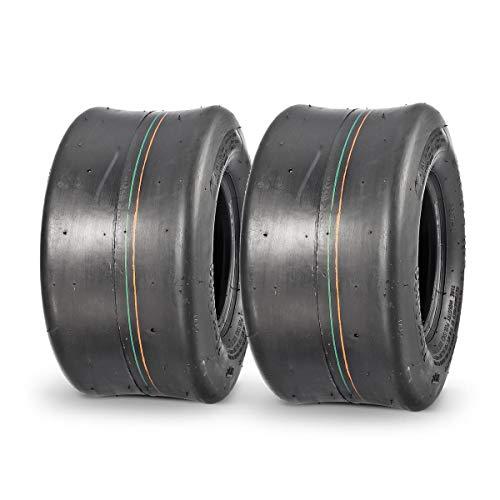 MaxAuto 11x6.00-5 Smooth Lawn & Garden Tire for Zero Turn Mower or Go-Kart,2Pcs