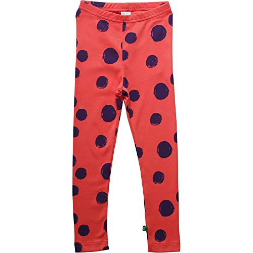 Fred'S World By Green Cotton Circus Dot Leggings, Orange (Warm Coral 018164901), 95 (Taille Fabricant: 80) Bébé Fille