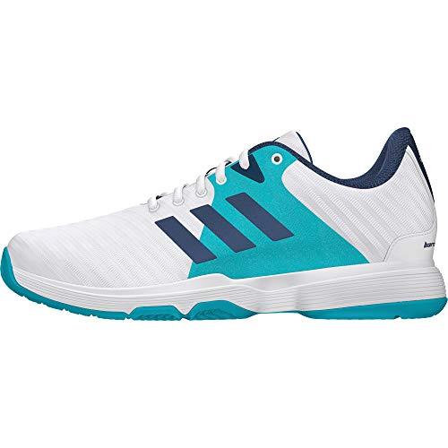 Adidas Barricade Court W, Zapatillas de Tenis para Mujer, Blanco (Blanco 000), 36 EU