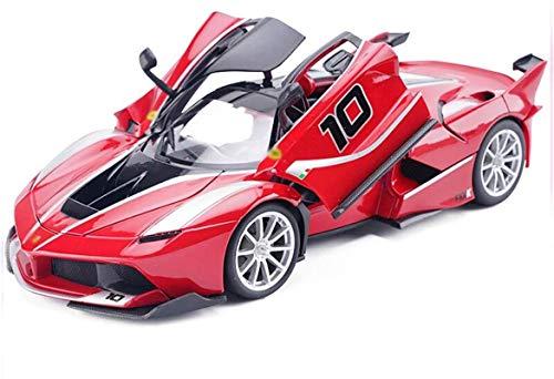 hclshops Ferrari FXX del Coche Modelo K-10 Modelo 1:18 de simulación de aleación de Juguete Modelo de Coche estático Adornos Collection