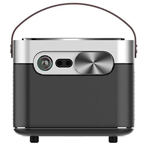 YP Bluetooth proyector Elegante,Mini Proyector,Mi Inteligentes Portátil Soporte Proyector 1080P Máximo 300