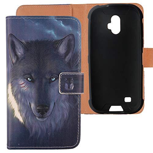 Lankashi PU Flip Leder Tasche Hülle TPU Silikon Hülle Cover Handytasche Schutzhülle Etui Skin Für Blackview BV5900 5.7