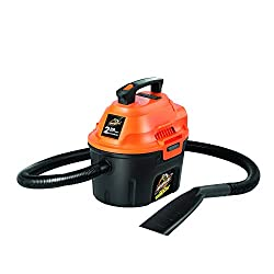 Armor All, AA255, 2.5 Gallon Wet/Dry Utility Shop Vac