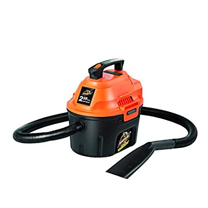 Armor All, AA255 , 2.5 Gallon 2 Peak HP Wet/Dry Utility Shop Vacuum<br><br>                      <strong>Price</strong>: $51.61      <strong>Rating</strong>: 4.5     <strong>Review</strong>: 15453<br>