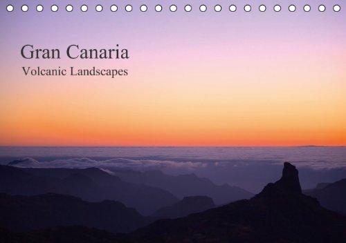 Gran Canaria - Volcanic Landscapes / UK-Version (Tischkalender 2015 DIN A5 quer): Unique coastal landscapes and mountainscapes of Gran Canaria (Tischkalender, 14 Seiten)