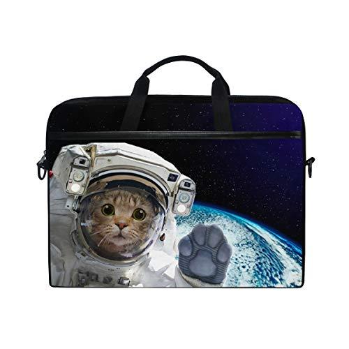 linomo laptoptasche astronaut katze tier