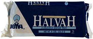 Joyva Halvah Bars, Vanilla, 8-Ounce Packages (Pack of 12)