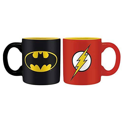 ABYstyle Dc Comics Mini-Mugs Batman and Flash für Adulti, mehrfarbig, ABYMUG197