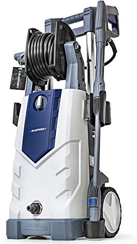 BLAUPUNKT Hidrolimpiadora a Presión PW7200i - Bomba de Inducción de Aluminio - 165 bar 2100W Motor Eléctrico AC de Alta Potencia - Manguera y Carrete de 8m – Detergente el depósito - Boquilla Vario