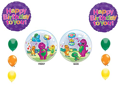 Barney Bubble VHTF Baby Bop Birthday Party Balloons Decorations Supplies