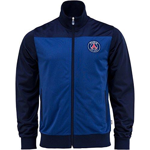 Paris Saint Germain Herren-Collegejacke, Erwachsenengröße, offizielle Kollektion XL blau