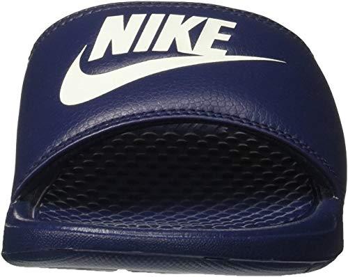 Nike Benassi Jdi, Herren Flip Flop, Blau (Midnight Navy/Windchill), 45 EU