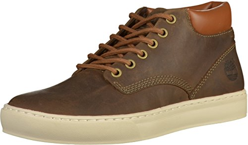 Timberland Adventure 2.0 Cupsole, Baskets Montantes Homme, Marron (Olive Full Grain), 43 EU