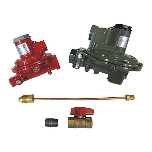 Marshall Regulator Home Propane Supply Kit LP 1122H-AAJ 1652-CFF 3/4' Backmount