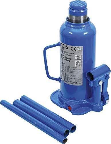 BGS 9886, Idraulico per Bottiglie, 12 t, cric Compatto