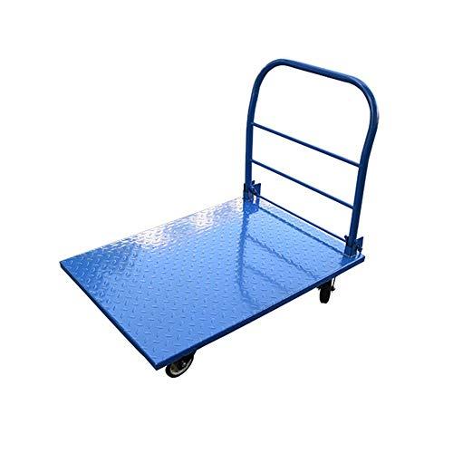 Yijiahui Steekwagen, push cart dolly beweegbaar, voor eenvoudige opslag en 360 graden draaibare wielen, handig voor bagage, reizen, auto, verhuizing en kantoor