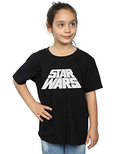 Star Wars niñas Retro Logo Camiseta...
