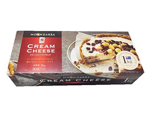 ムーンダラー クリームチーズブロック1kg×2個セット フレッシュ・クリームチーズ ムラカワ
