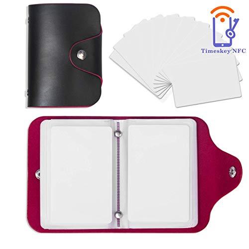 NFC 215 Tag 23 PCS NTAG215 NFC Cards Compatitable with Amiibo TagMo,NTAG 215 NFC Tags with a Card Sleeve by Timeskey NFC