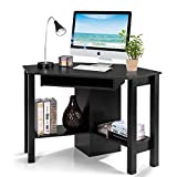 Tangkula Corner Desk, Corner Computer Desk, Compact Home Office Desk, Laptop PC...