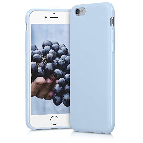 kwmobile Hülle kompatibel mit Apple iPhone 6 / 6S - Handyhülle - Handy Case in Hellblau matt