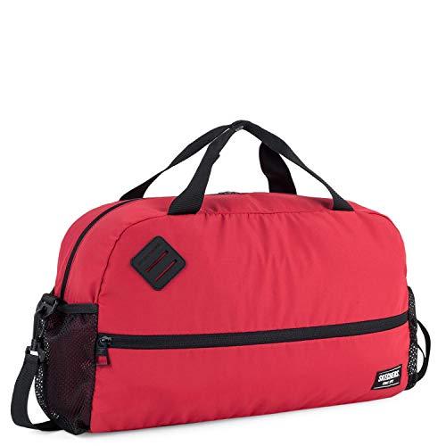 Skechers Sports, Fitnessstudio, mit Schultergurt, praktisch, vielseitig, leicht, bequem, S893, intensives Rot, Einheitsgröße