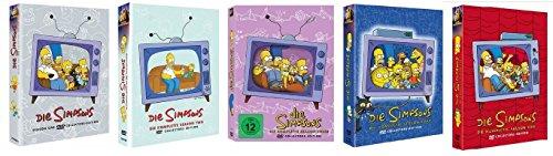 Die Simpsons Staffel 1-5 (1+2+3+4+5) / Starter DVD Set