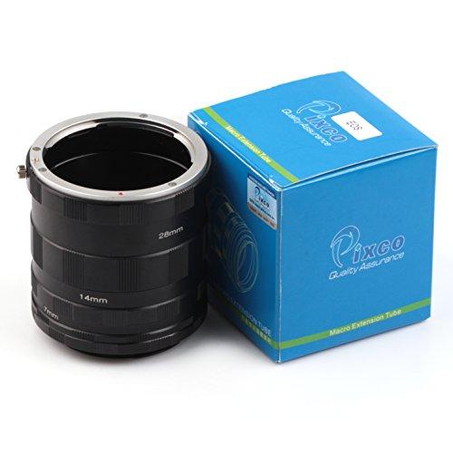 Pixco Macro - Tubo de extensión para cámara Canon EOS EF DSLR 60D 50D 40D 30D 100D 700D 650D, 600D 550D (Canon)